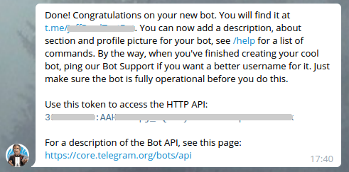 Telegram-botfather